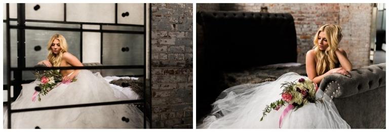 industrial boudoir