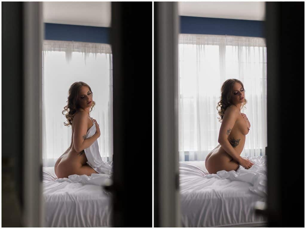 Washington DC and MD boudoir photographer boudoir empowerment session
