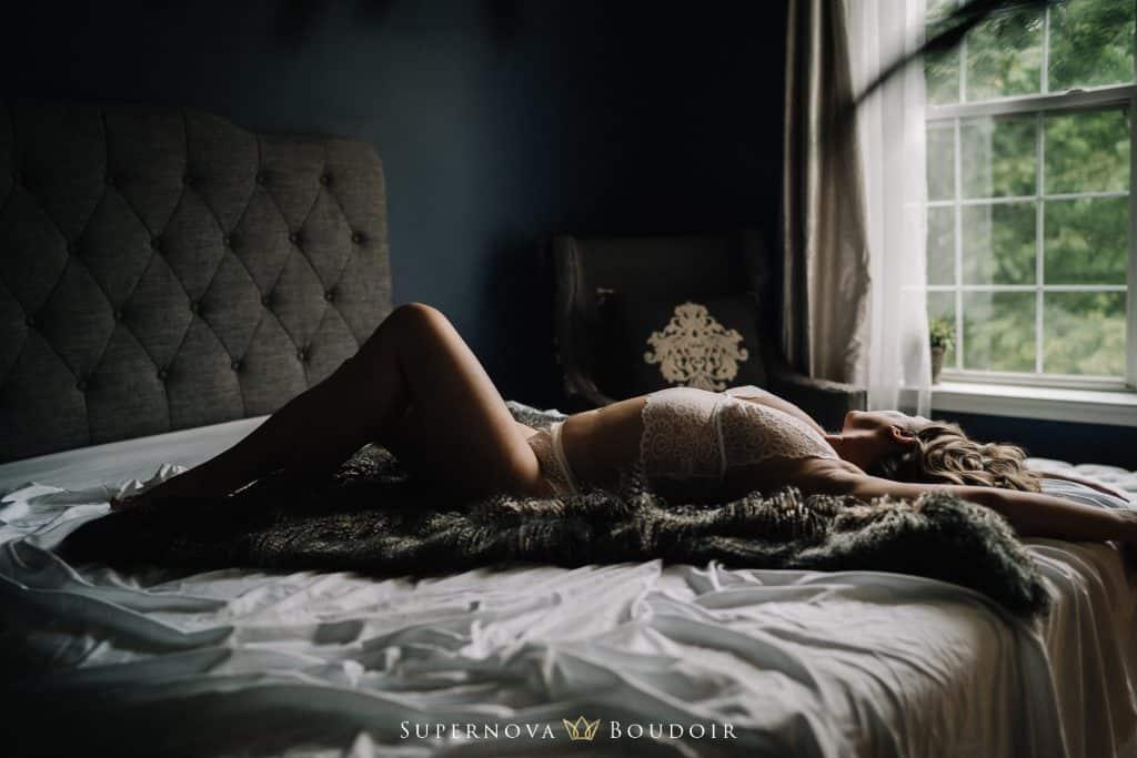 moody boudoir