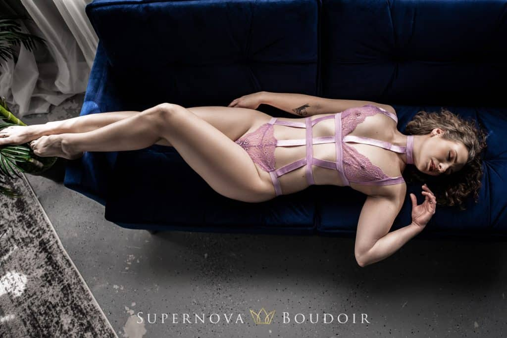 sterling virginia boudoir studio by jennifer james of supernova boudoir