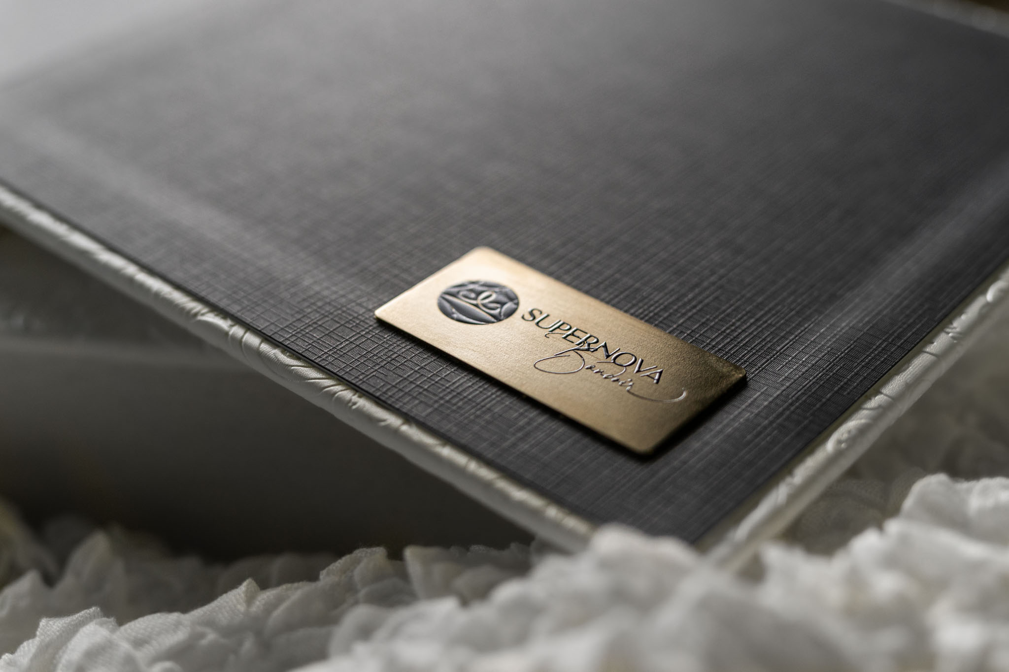 Image of a luxury boudoir album